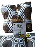Hot & Cold Aromatherapy Microwaveable Wrap for Body Aches like Back, Shoulder, Neck, Knee & Soul Aches like Stress - Nervous - Tension - Anxiety//Filled with Seeds & Medical Herbs for Better Results