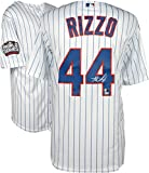 Anthony Rizzo Chicago Cubs 2016 MLB World Series Champions Autographed Majestic White Replica World Series Jersey - Fanatics Authentic Certified