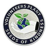 PinMart's Volunteers Plant Seeds of Kindness Enamel Lapel Pin