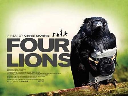 Amazon.com: Four Lions Movie Poster (30 x 40 Inches - 77cm x 102cm ...