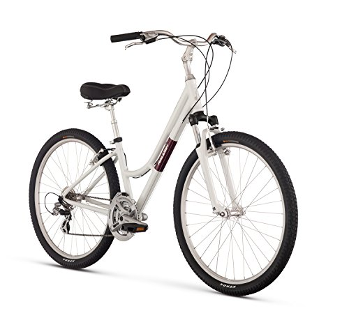 Raleigh Bikes Venture 4.0 Step Thru Comfort Bike, White, 17″/Medium Review