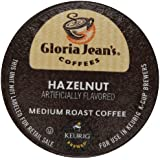 Gloria Jean's Hazelnut, K-Cup for Keurig Brewers, 48 Count