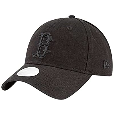 New Era Boston Red Sox Black on Black Core Classic 9TWENTY Adjustable Hat/Cap by New Era