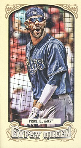 2014 Topps Gypsy Queen Mini #321B David Price Sunglasses - - Sunglasses Prices Of