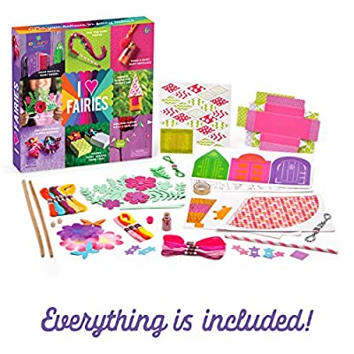 Craft-tastic I Love Fairies Kit - Craft Kit Makes 8 Different Fairy Themed Craft Projects: Toys & Games