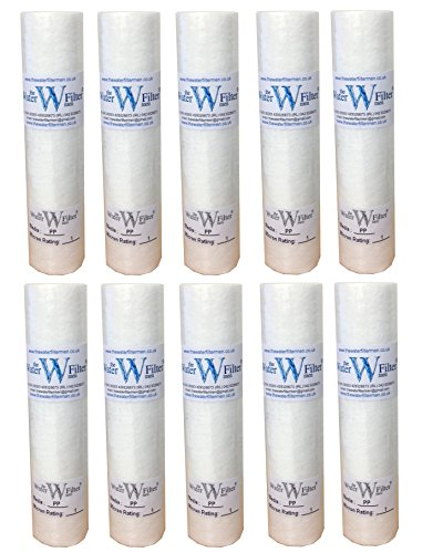Reverse Osmosis 10 pp sediment particle water filter cartridges 1 Micron by The Water Filter Men CMIBJCK003817