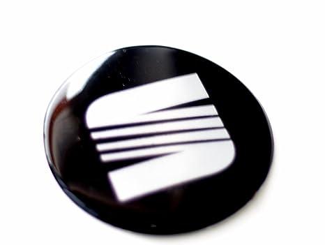 4 x 70 mm Diámetro Juego para artículo Wheel Centre Caps Pegatinas Self Adhesive Emblema Decals