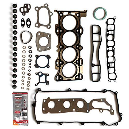 (ROADFAR Cylinder Head Gasket Set Kit for Mazda 3 6 CX-7 2.3L 06 07 08 09 10 11 12 13 )