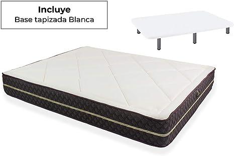 Naturconfort Pack Descanso, Viscoelástica Viscogel, Blanco ...