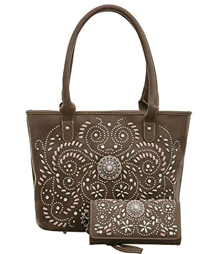 montana-west-studded-conceal-carry-tote-brown-handbag-with-matching-wallet-set