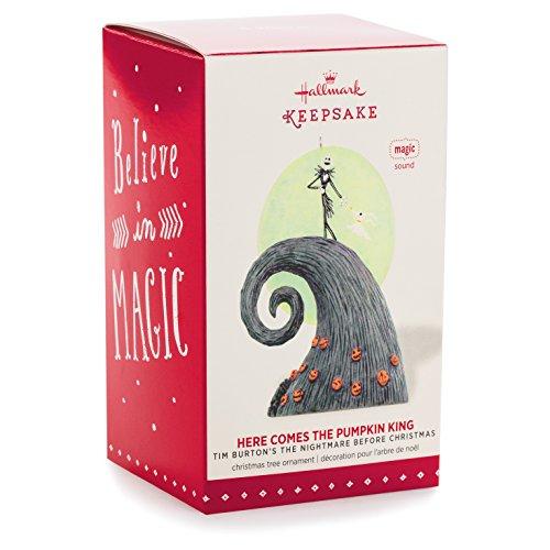 Hallmark Nightmare Before Christmas Ornaments.Hallmark Keepsake Ornament Disney Tim Burton S The Nightmare Before Christmas Here Comes The Pumpkin King