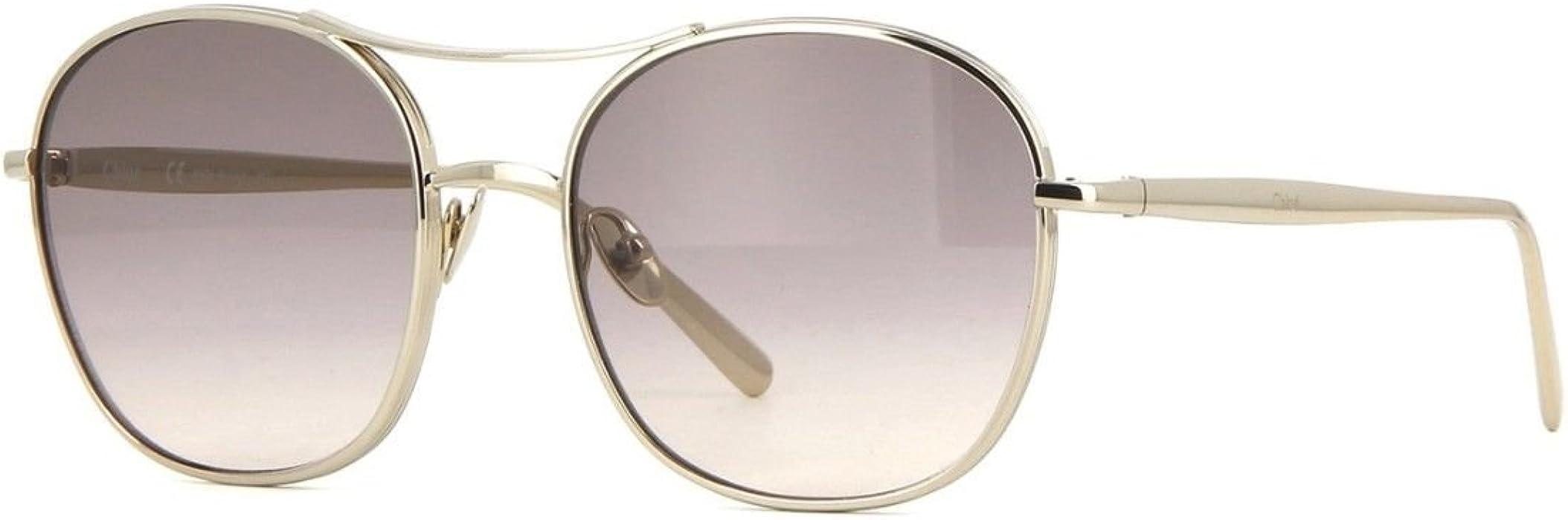 Chloé Ce137S 767 54, Gafas de Sol para Mujer, Gold/Brown ...