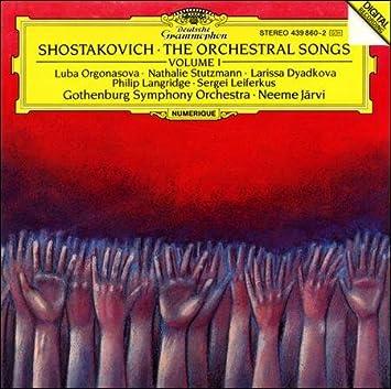 Chostakovitch: mélodies 51Psa2W3JlL._SX355_