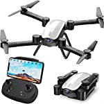 SIMREX X900 Drone Optical Flow Positioning RC Quadcopter with 1080P HD Camera, Altitude Hold Headless Mode, Foldable FPV…