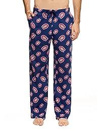 NHL Pajamas, Men's Cotton Sleep Pants