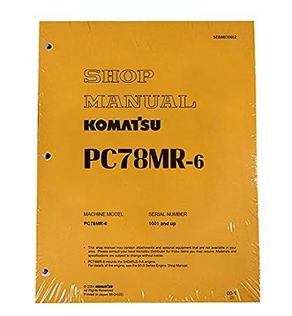 download komatsu pc78mr 6 excavator manual
