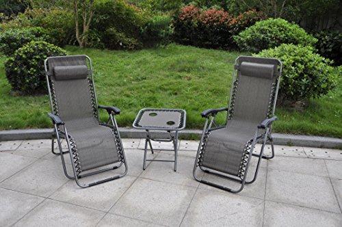 3-pcs-set-deluxe-2-pack-zero-gravity-chairs-folding-table-w-cup-holder-set-3-pcs-set-black
