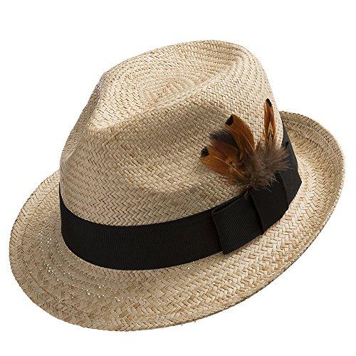 Genuine Panama Fedora Hat - 8