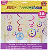 60's Value Pack Party Swirl Decorating Kit