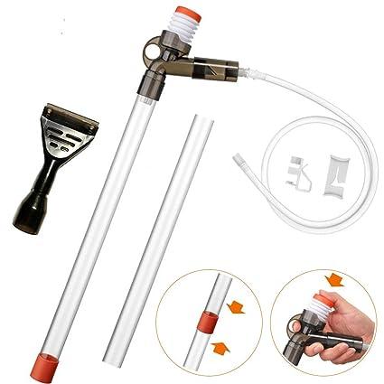 Shop For Cheap Gravel Cleaner Mini Unique Self Start Siphon 5 Inch X 72 Inch Tube Pet Supplies