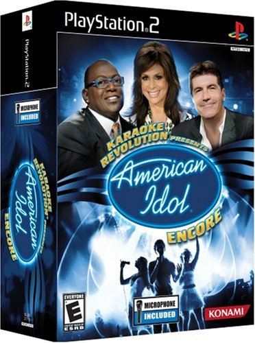 Karaoke Revolution Presents: American Idol Encore BUNDLE - PlayStation 2