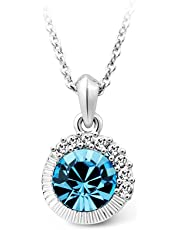 T400 Jewelers Frozen Beauty Necklace Fashion Crystals Jewellry for Women