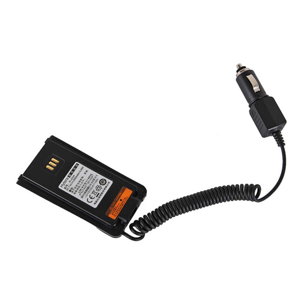 Bomcomi Autoradio-Batterie Eliminator Adapter Ersatz f/ür HYT Hytera PD700 PD780G PD780 Radio Walkie Talkie