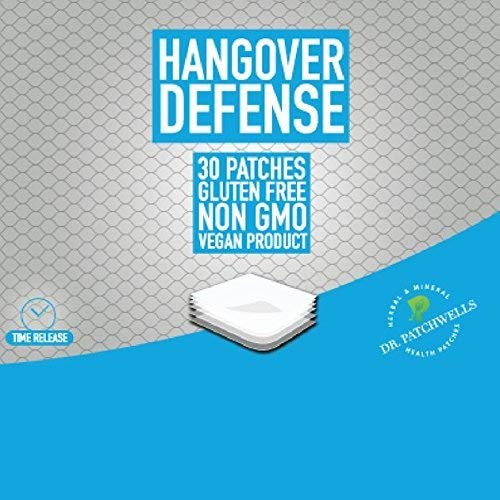 Hangover Defense Patch Dr Patchwells