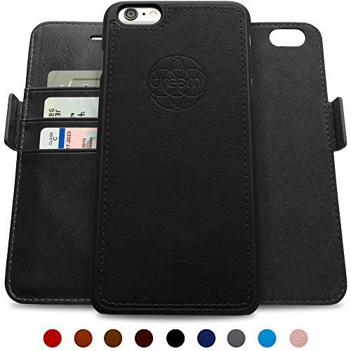 iphone 6 wallet case with stand - 8