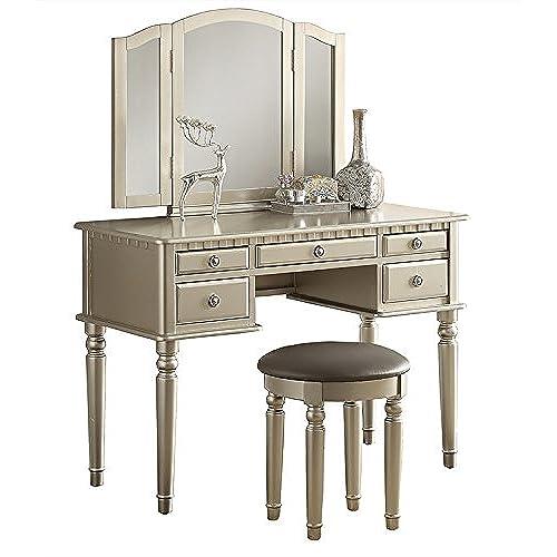 Antique Vanity Dresser And Mirror Amazon Com