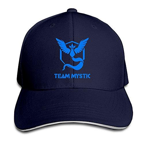 MayDay Pokemon TEAM MYSTIC Baseball Sandwich Cap Navy