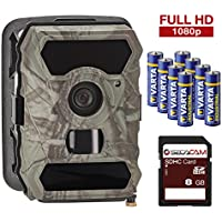Game Trail Surveillance camera SecaCam 52° or 100° degree wide angle, Full HD, 12 MP, no glow - Premium Pack