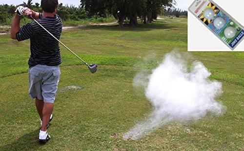 A99 Golf Joke Ball Exploding Golf Ball Prank Funny Gag Trick Gift 3 Balls/Pack ()