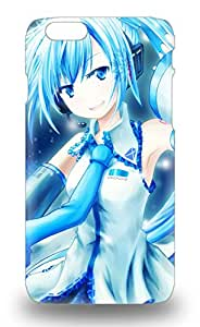 Iphone Cover 3D PC Case Japanese Hatsune Miku Protective 3D PC Case Compatibel With Iphone 6 ( Custom Picture iPhone 6, iPhone 6 PLUS, iPhone 5, iPhone 5S, iPhone 5C, iPhone 4, iPhone 4S,Galaxy S6,Galaxy S5,Galaxy S4,Galaxy S3,Note 3,iPad Mini-Mini 2,iPad Air )