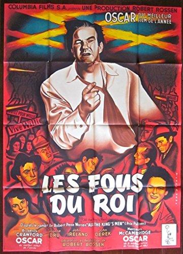 ALL THE Sovereign'S MEN - ORIGINAL 1950 FRENCH 1 PANEL POSTER - RENE PERON ARTWORK