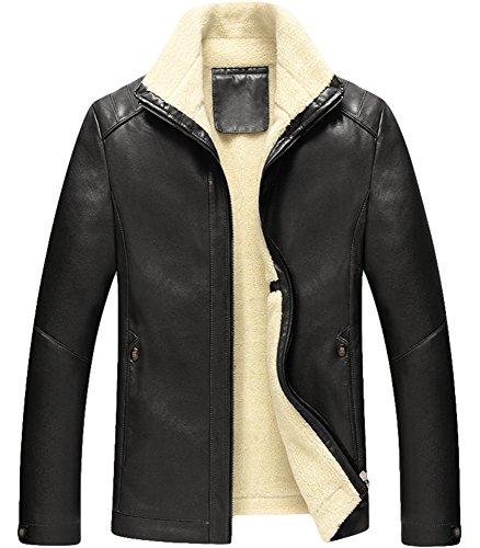 Uomo Peso e Di Spessore Invernali In Black Giacca Donna Calda Cappotti Models Da Casual Stile OaTap8Iwq