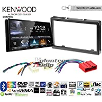 Volunteer Audio Kenwood DDX9904S Double Din Radio Install Kit with Apple CarPlay Android Auto Bluetooth Fits 2001-2006 Mazda Tribute