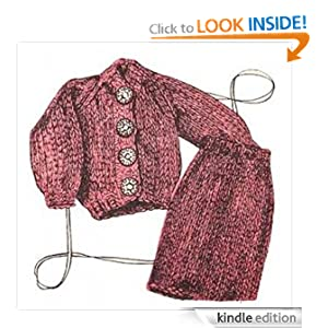 Fashion Doll Ensemble Barbie Outfit Knitting Pattern Vintage Knit EBook Download Needlecrafts The Crochet Kid