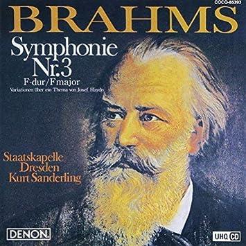 UHQCD DENON Classics BEST ブラームス:交響曲第3番、ハイドンの主題による変奏曲