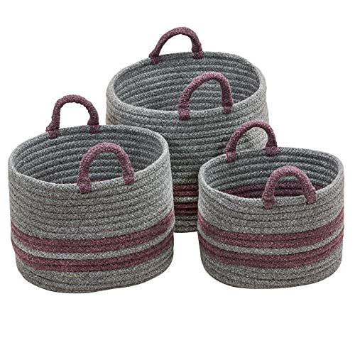 Scott Living CL06A018X014 Coastal Line Basket, 18