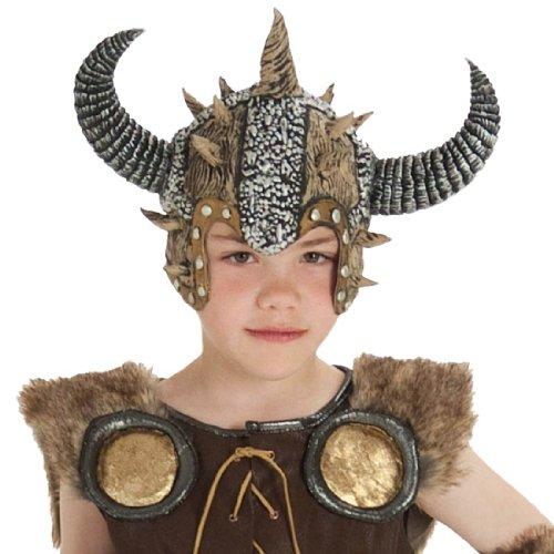 [Kids Viking Warrior Helmet] (Barbarian Warrior Costume)