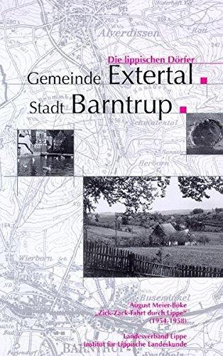 Zick-Zack-Fahrt durch Lippe (1954-1958). Die Lippischen Dörfer: Gemeinde Extertal, Stadt Barntrup
