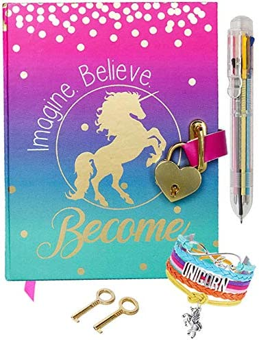 Diary Lock Girls Upgraded Multicolored product image