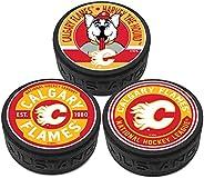 Calgary Flames 3 Puck Pack