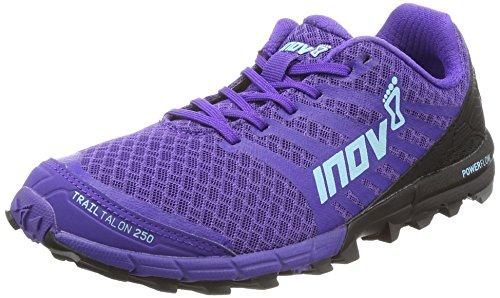 魅惑的な思慮のないと遊ぶInov - trailtalon 250レディース靴パープル/ブルー/ブラック