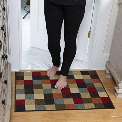 Ottomanson OTH2079-2X3 Rug, 2'3' x 3', Multicolor (Rugs 2x3 Kitchen)
