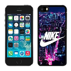 NEW Unique Custom Designed Case For Ipod Touch 4 Cover Phone Case With NIKE Logo New York City_Black Phone Case