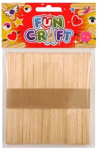 Craft Kit Wooden Lollypop Sticks