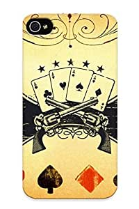 1ea788557 Faddish Poker And Guns Case Cover For iphone 6 plus 5.5 With Design For Christmas Day's Gift by kobestar
