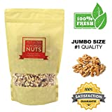 European Nuts Premium Crunchy Light California Walnuts Half & Pieces | Source of Nutrition and Omega 3 | Jumbo Size Bag – 1 lb Review